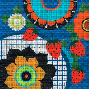 Leigh Designs - Hand-painted Needlepoint Canvases - Baja Collection - Andalucia