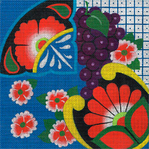 Leigh Designs - Hand-painted Needlepoint Canvases - Baja Collection - La Paz