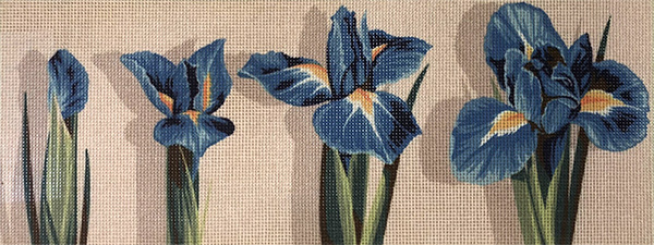 Margot Creations de Paris Needlepoint - Irises