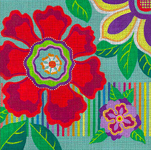 Leigh Designs - Hand-painted Needlepoint Canvases - Guadalajara Collection - Charro