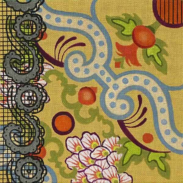 Leigh Designs - Hand-painted Needlepoint Canvases - Espana - Cordoba