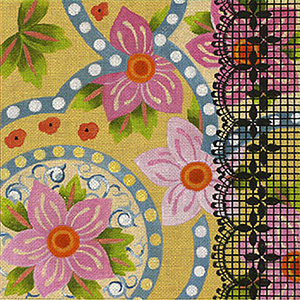 Leigh Designs - Hand-painted Needlepoint Canvases - Espana - Madrid