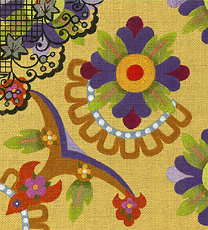 Leigh Designs - Hand-painted Needlepoint Canvases - Espana - Malaga