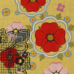 Leigh Designs - Hand-painted Needlepoint Canvases - Espana - Valencia