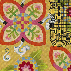Leigh Designs - Hand-painted Needlepoint Canvases - Espana - Toledo