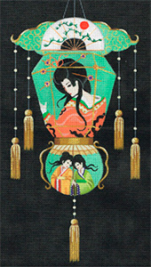 Leigh Designs - Hand-painted Needlepoint Canvases - Illuminations - Window of Virtue