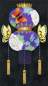 Leigh Designs - Hand-painted Needlepoint Canvases - Illuminations - Victorious Passage