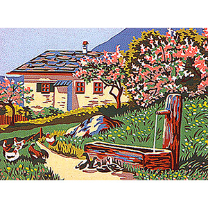 Margot Creations de Paris Needlepoint - Printemps (Spring)