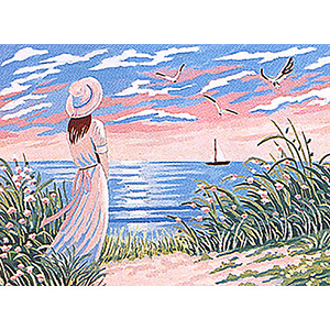 Margot Creations de Paris Needlepoint - L'horizon (The Horizon)