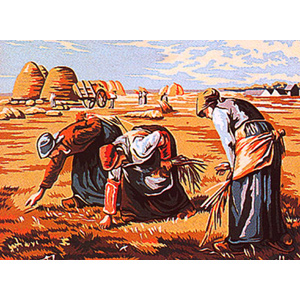Margot Creations de Paris Needlepoint - Les Glaneuses d'apres Millet (The Gleaners by Millet)