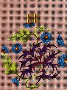 Leigh Designs - Hand-painted Needlepoint Canvases - British Dynasty Ornaments - Hanover
