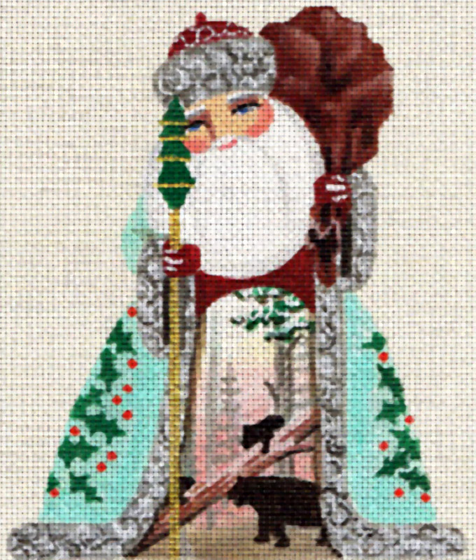 Hand-painted Needlepoint Canvases