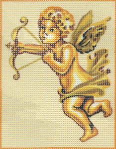 Cherub with Bow Kit