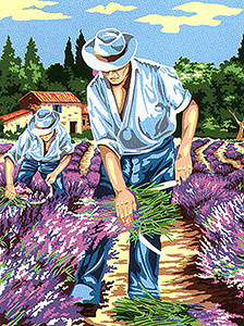 "SEG de Paris Medium Canvas ""Cutters of Lavender"""