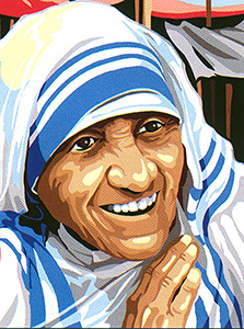SEG de Paris Needlepoint - Mother Theresa