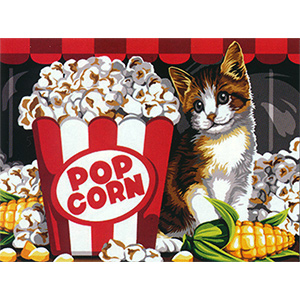 SEG de Paris Needlepoint - Pop Corn