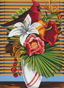 SEG de Paris Needlepoint - Plume Exotique