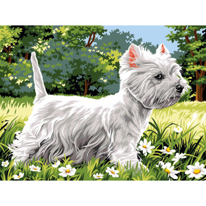 SEG de Paris Needlepoint - Westie
