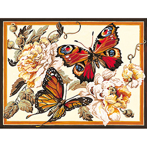 SEG de Paris Needlepoint - Medium Needlepoint Canvases - Fragrance Canvas