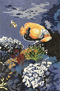 SEG de Paris Needlepoint - Tropical Reef Scene
