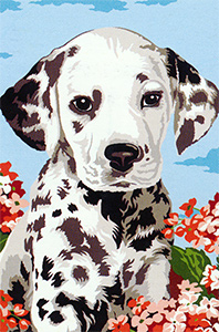 SEG de Paris Needlepoint - Petit Dalmatien Canvas (The Little Dalmatian)