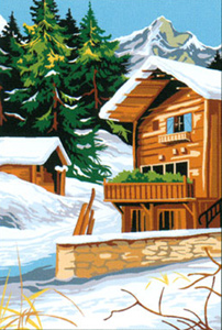 SEG de Paris Needlepoint - Le Chalet Canvas