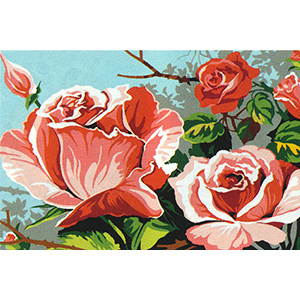 SEG de Paris Needlepoint - Small Needlepoint Canvases - Roses