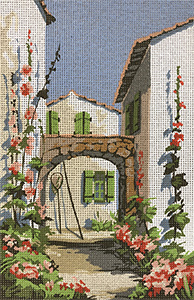 SEG de Paris Needlepoint - Patio