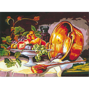 SEG de Paris Needlepoint - Nature Morte (Still Life) Canvas