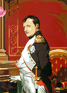 SEG de Paris Needlepoint Napoleon