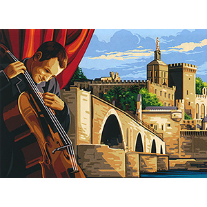SEG de Paris Needlepoint - Medium Needlepoint Canvases - Avignon Festival