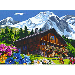 SEG de Paris Needlepoint - Montagne D'ete (Mountain Summer)
