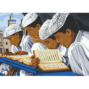 SEG de Paris Needlepoint -  La Priere Musulmane (The Muslim Prayer)