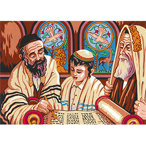 SEG de Paris Needlepoint -  Barmitzvah