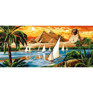 SEG de Paris Needlepoint - Tapestries - Toile Se Long de Nile