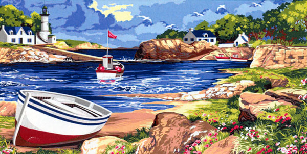 SEG de Paris Needlepoint - Tapestries - La Baie Bretonne