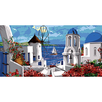 SEG de Paris Needlepoint - Tapestries - Les Cyclades