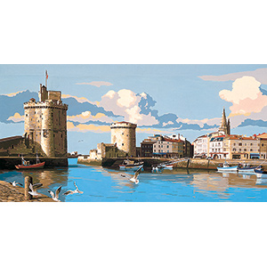 SEG de Paris Needlepoint - Tapestries - La Rochelle Canvas