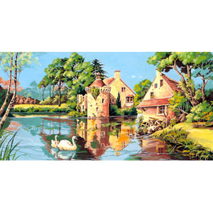 SEG de Paris Needlepoint - Tapestries - Old Mill Canvas