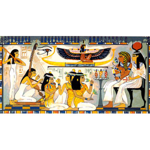 SEG de Paris Needlepoint - Tapestries - Isis and Pharaoh Canvas