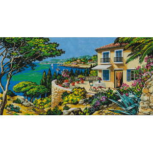 SEG de Paris Needlepoint - Tapestries - View of the Sea Canvas