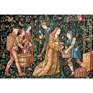 SEG de Paris Needlepoint -Tapestries - Les Vendanges (The Grape Harvest)