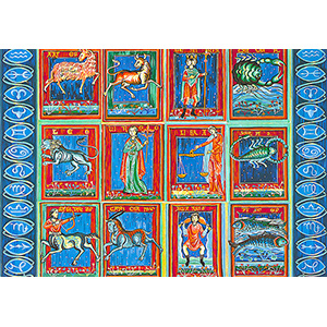 SEG de Paris Needlepoint - Tapestries - Zodiaque (Zodiac)