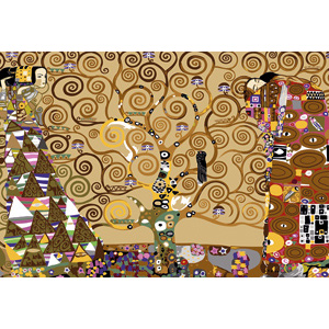 SEG de Paris Needlepoint - Tapestries - L'arbre de vie (Tree of Life) by Klimt