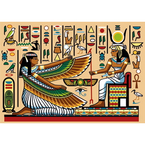 SEG de Paris Needlepoint - Tapestries - Fresque Egyptienne (Egyptian Fresco)