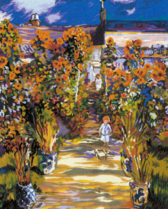 SEG de Paris Needlepoint - Le Jardin de Monet