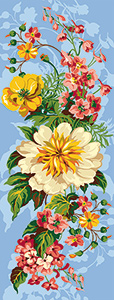 SEG de Paris Needlepoint - Small Needlepoint Canvases - Bouquet