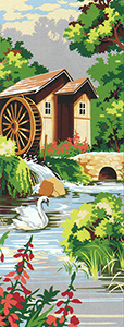 SEG de Paris Needlepoint - Small Needlepoint Canvases - Le Moulin (The Mill)