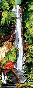 SEG de Paris Needlepoint - Quetzal