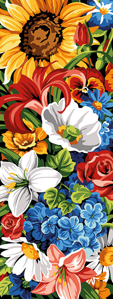 SEG de Paris Needlepoint - Flowers